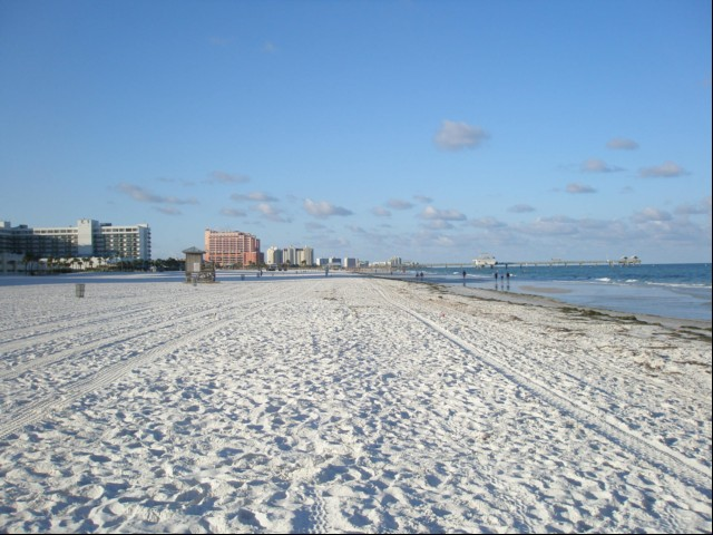 Beautiful Clearwater Beach, and Pier