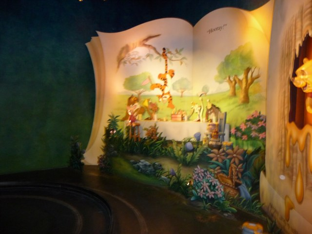 All new Winnie the Pooh Ride
