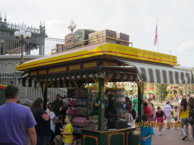 Entering Main Street