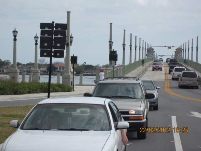 Arriving at St Augustine