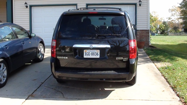 Dodge Caravan rear view