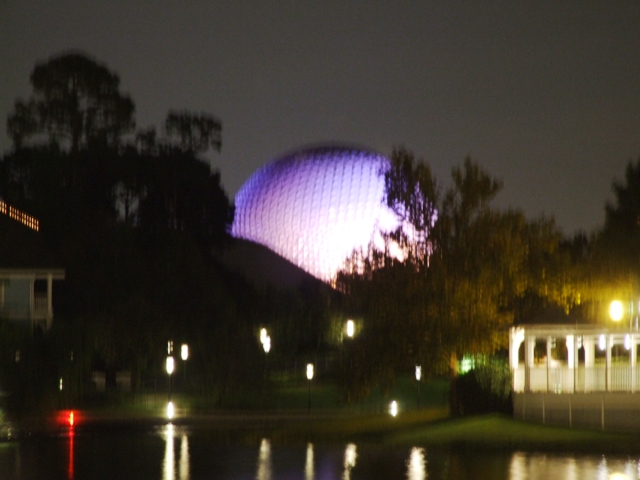 View of Epcot from Boardwalk bridge