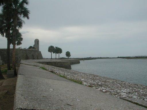 Fort Matanzas at St Augustine, Florida