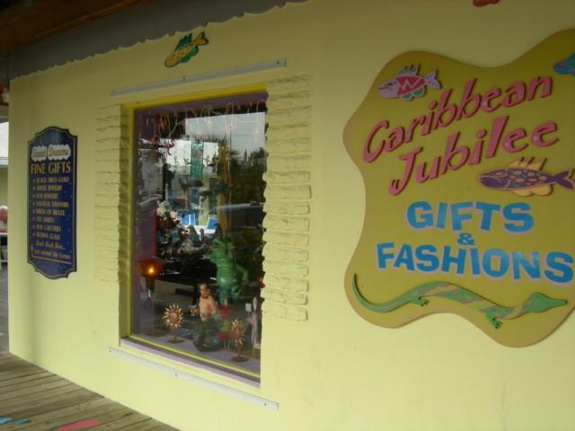 A charming souvenir shop