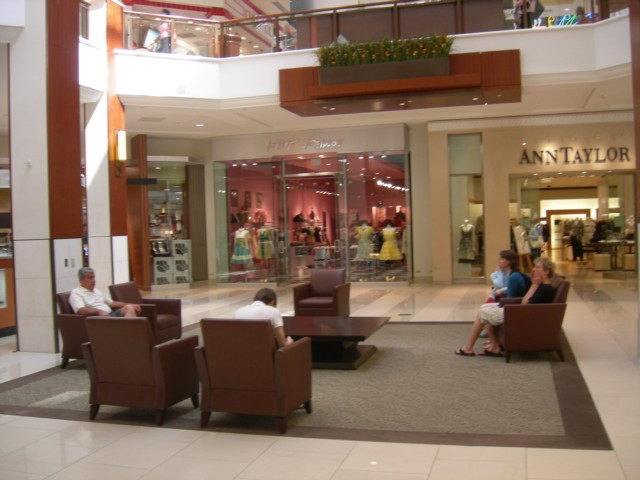 Comfortable seating areas