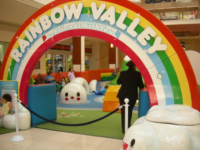 Rainbow Valley play area for children