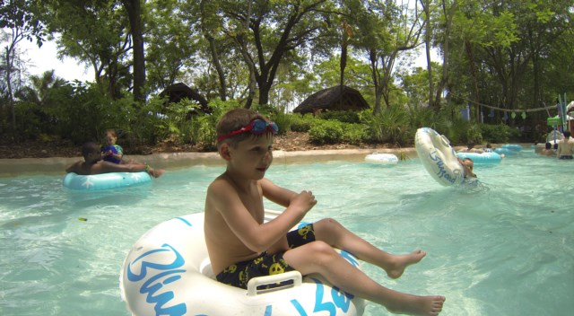 Riding the Lazy River
