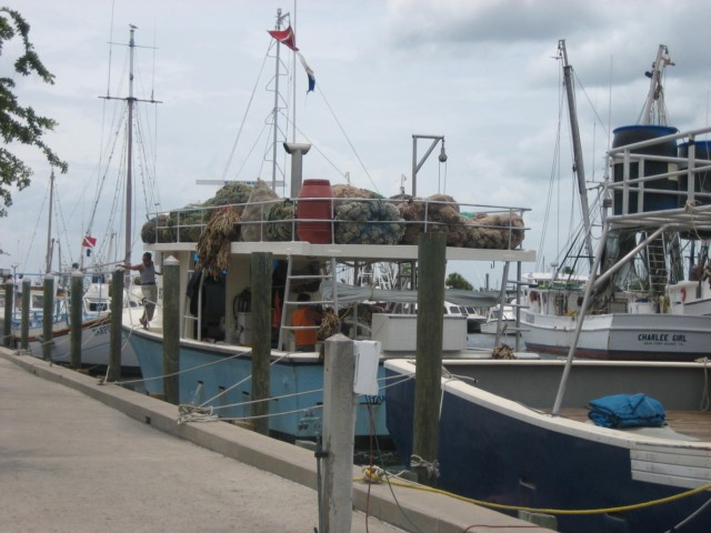 Sponge boat at Tarpon Springs