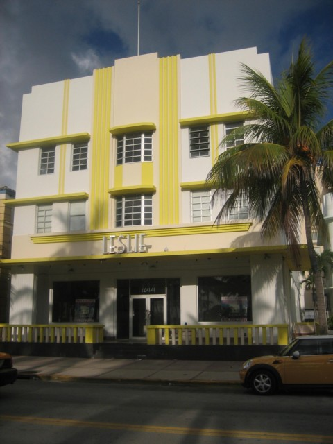 Art Deco area - Miami