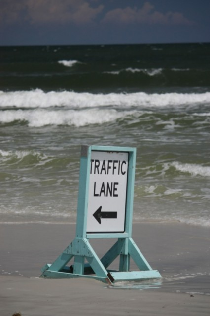 You can drive on the beach !!