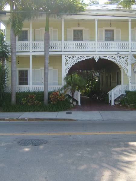 typical Key West property