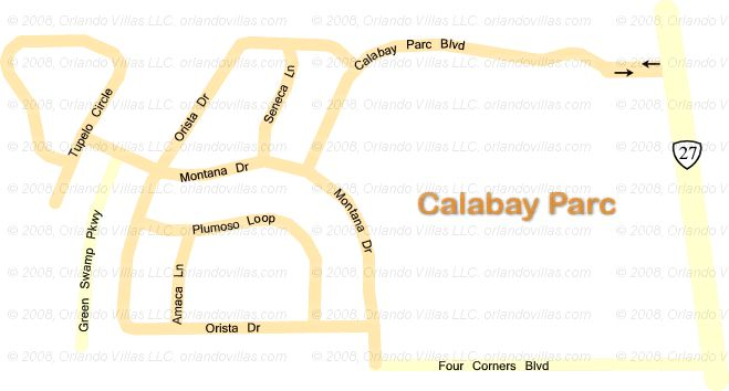 Calabay Parc community map