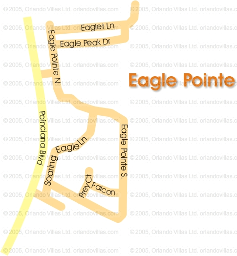 Eagle Pointe community map