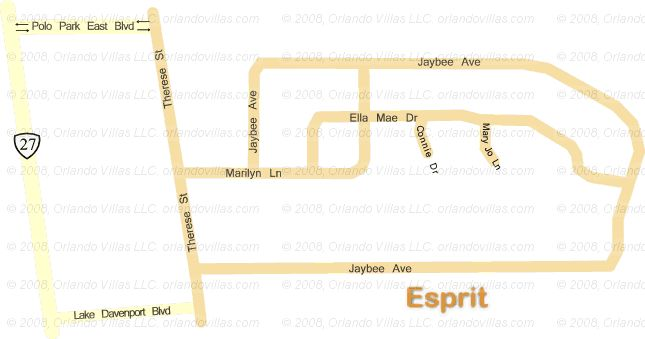 Esprit community map