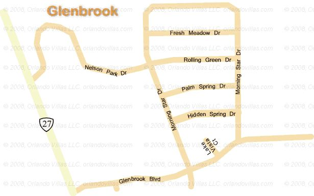 Glenbrook community map