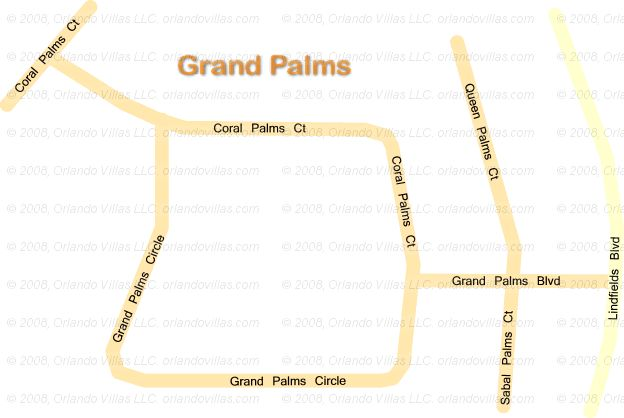 Grand Palms community map