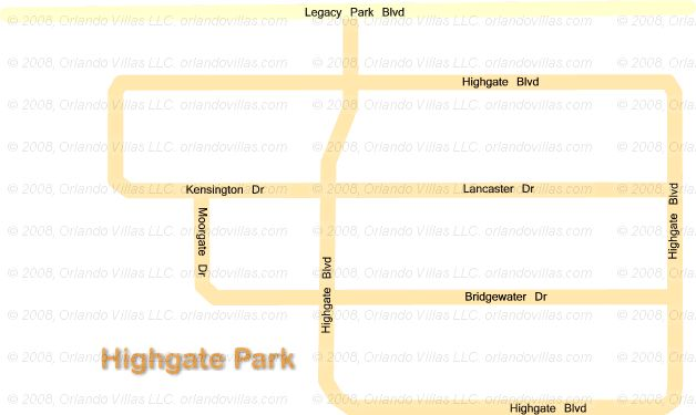 High Gate Park community map