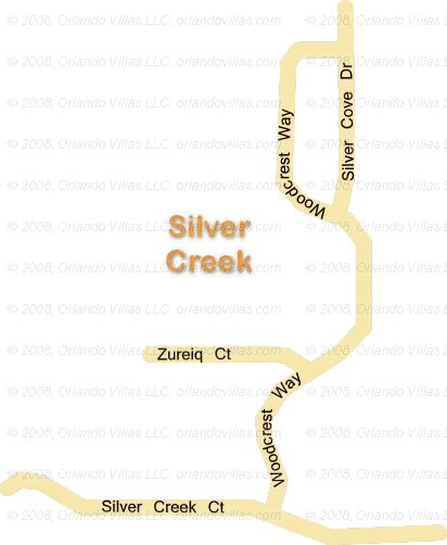 Silver Creek community map