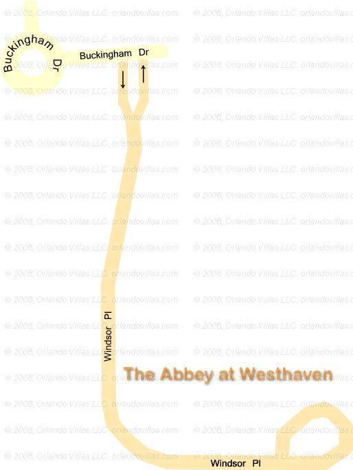 The Abbey at West Haven community map