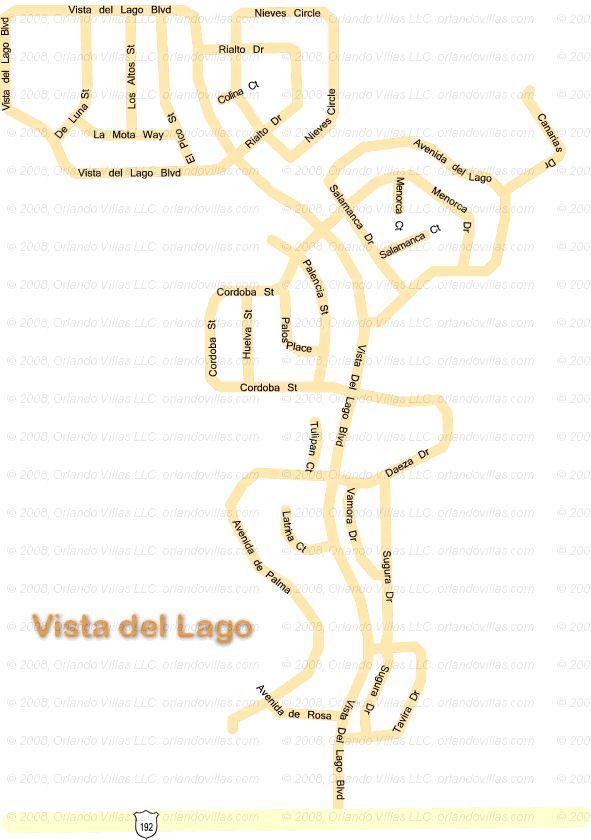 Vista Del Lago community map