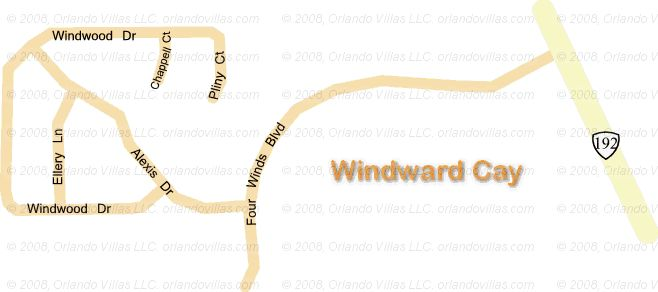 Windward Cay community map