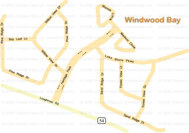 Windwood Bay community map
